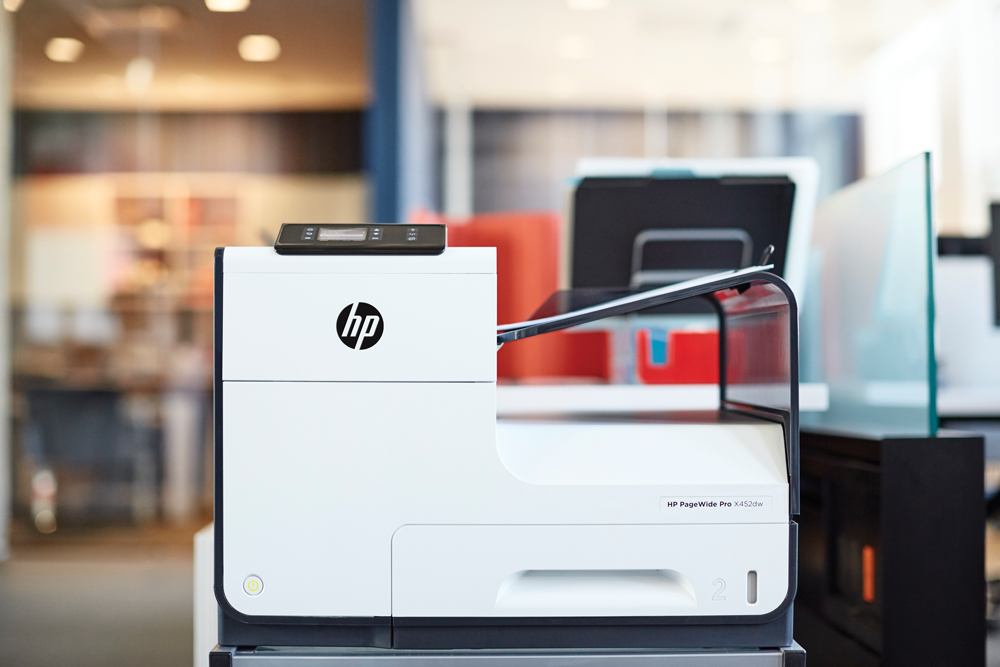 2 HP PageWide Pro 452dw Printer