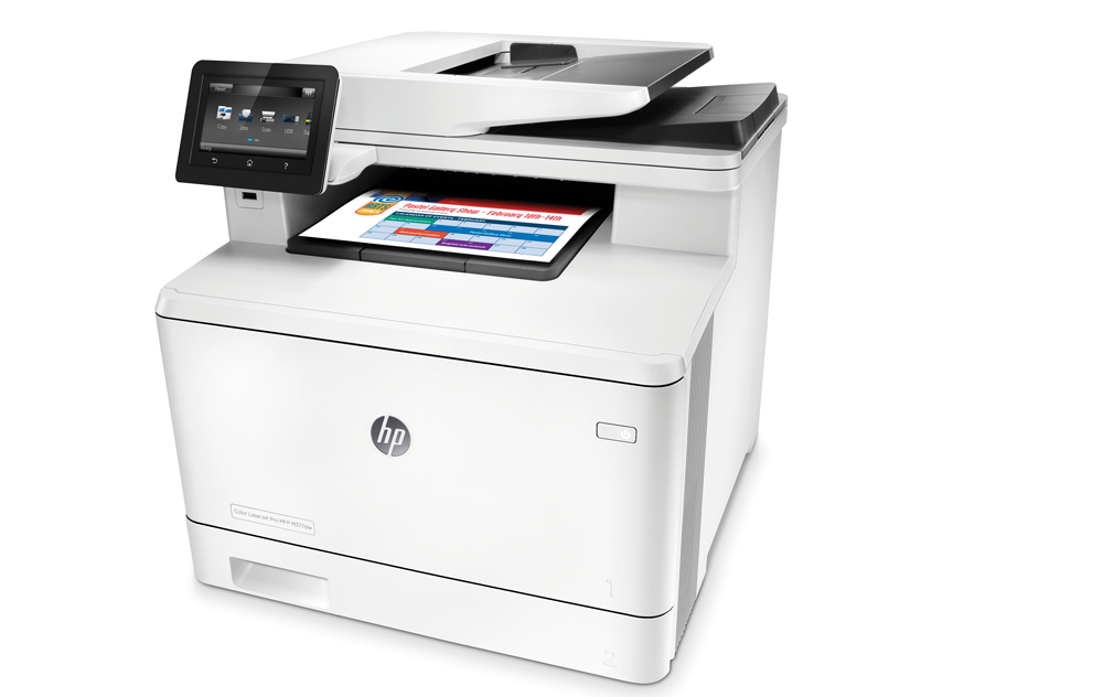 3 HP Color LaserJet Pro MFP M377dw Printer