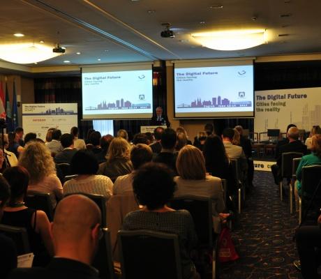 Godišnja konferencija udruge MCE pod nazivom Digitalna budućnost - gradovi i stvarnost uspješno je privedena kraju