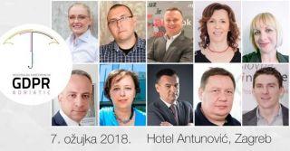 GDPR Adriatic – drugo izdanje iznimno uspješne konferencije priprema se 7. ožujka u Zagrebu