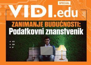 Vidi.edu - ZANIMANJE BUDUĆNOSTI: Podatkovni znanstvenik