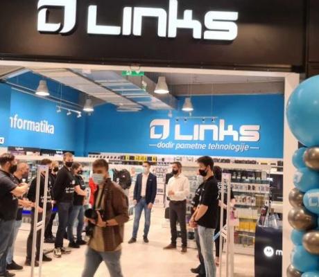 Links otvorio svoju najveću trgovinu na preko 1000 kvadrata