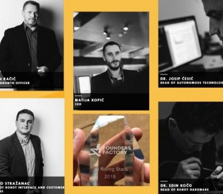 Hrvatski Gideon Brothers proglašen najboljim europskim startupom