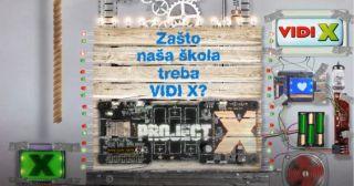 Kreativni učenici 13 škola žele VIDI X