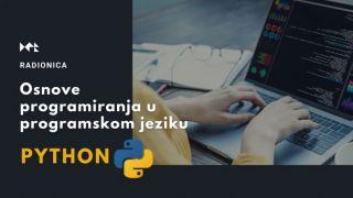 Online edukacija: Osnove programiranja u programskom jeziku Python